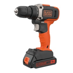 Black and Decker - 18V LithiumIon 2gir Drill med 15Ah batteri og 400mA lader - BCD002C1