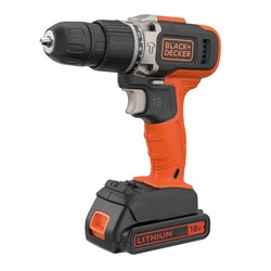 Black and Decker - 18V LithiumIon 2gir slagdrill med 15Ah batteri og 400mA lader - BCD003C1