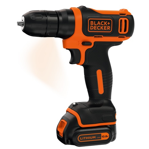 Black and Decker - 108V Lithiumion drill - BDCD12
