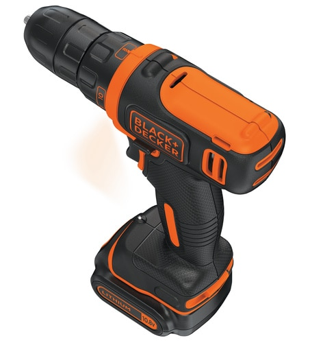 Black and Decker - 108V Lithiumion drill - BDCDD12