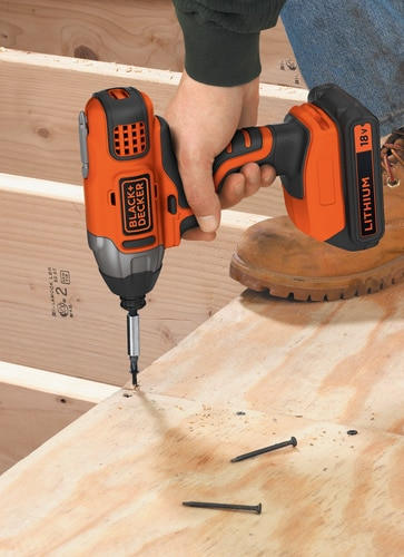 Black and Decker - 18V Slagtrekker uten batteri eller lader - BDCIM18N