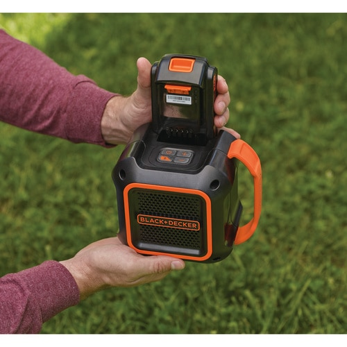 Black and Decker - 18V Bluetooth Hytaler - BDCSP18N