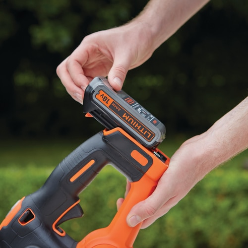 Black and Decker - 18V 45CM 2Ah Power Command Power Cut Hekksaks - GTC18452PC