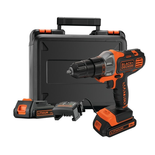 Black and Decker - 18V Bor Skruemaskin Multievo med 2 batterier - MT218KB