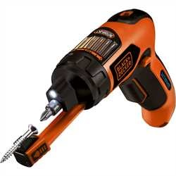 Black and Decker - Skrutrekker Autoselect med skrueholdere - AS36LN