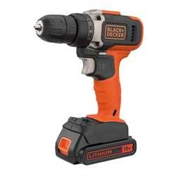Black and Decker - 18V Lithiumion 2 Speed Drill Driver with 2x 15Ah Batteries and 400mA Charger - BCD002C2K