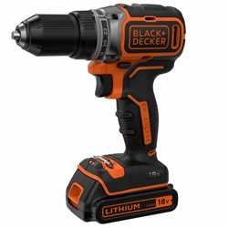 Black and Decker - DRILL 18V 2BATTERIER I KOFFERT - BL186KB