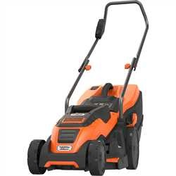 Black And Decker - Gressklipper 1400W 34cm klippebredde - EMAX34I