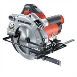 Black and Decker - Sirkelsag 1400 W 65 mm med laser - KS1400L