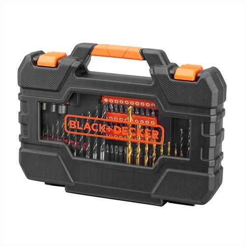 Black and Decker - BITSSETT 104 DELER - A7230