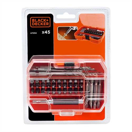 Black and Decker - BITSSETT 45 DELER - A7234