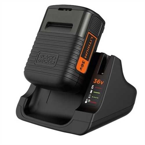 Black and Decker - 36V 20Ah Lithium Ion batteri  lader - BDC2A36