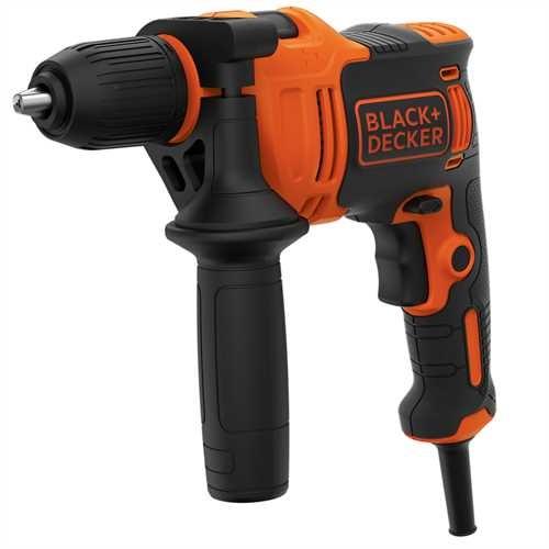 Black and Decker - 550W 1gir Slagbormaskin - BEH550