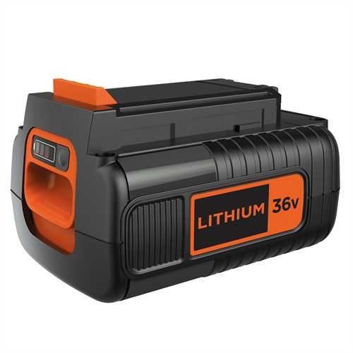 Black and Decker - Batteri 36V 20 Ah Lithium Ion - BL20362